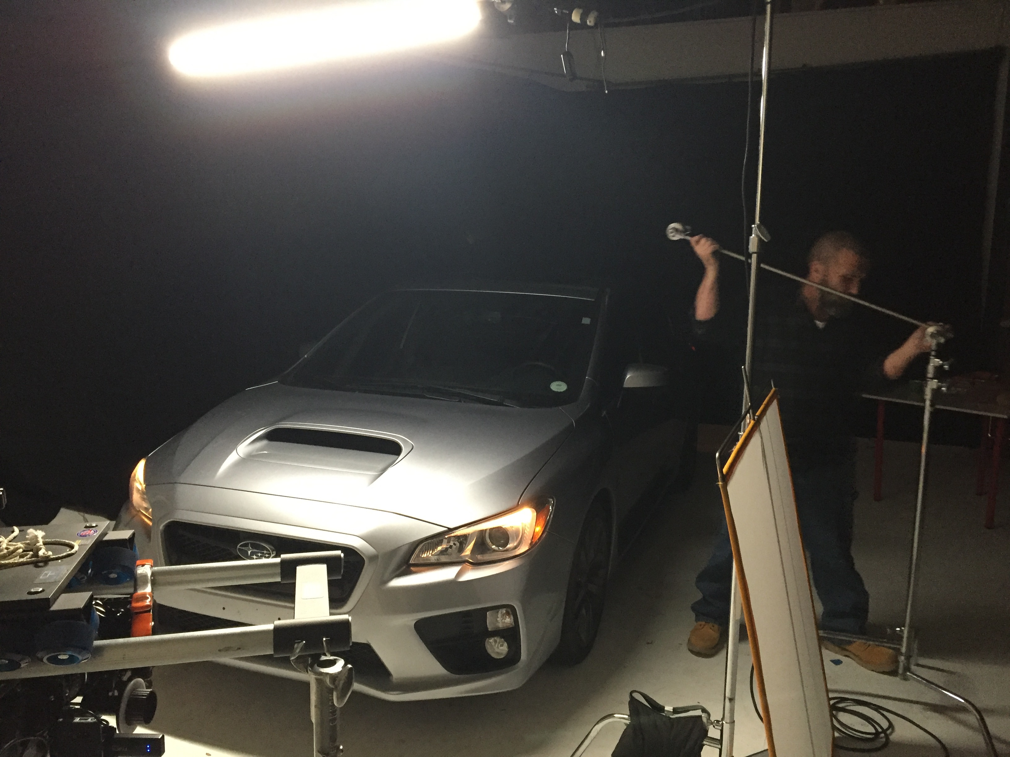 Car Shoot on Stage